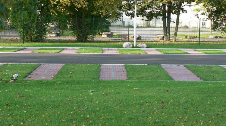 Realizzare un parcheggio in erba naturale